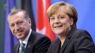 Erdogan ve Merkel