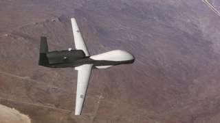 дрон ВВС США Global Hawk