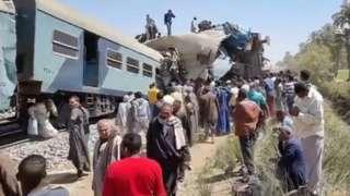 Авария в Египте