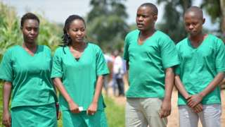 Uvuye i bubafu: Christine, Agnès, Térence na Egide