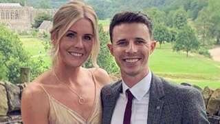 Jon O'Brien and Amy Wiltshite