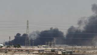 Smoke after fire at Abqaiq facility - 14 September