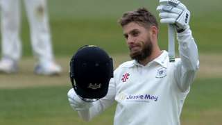 Chris Dent completed the 12th first-class century of his career, five of which have come at Nevil Road