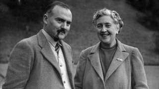 أغاثا كريستي وزوجها عالم الآثار ماكس مالوان