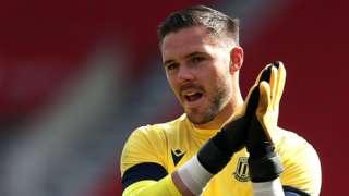 Stoke keeper Jack Butland