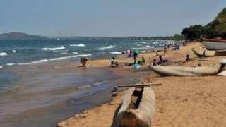 Ziwa Nyasa huku ikiliita Ziwa Malawi
