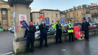 Security staff at Royal Berkshire Hospital strike over pay
