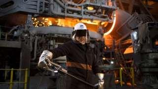 A Liberty Steel worker