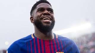Arsenal, West Ham na Everton wote bado wana nia ya kusaini mkataba na difenda wa Barcelona Mfaransa Samuel Umtiti