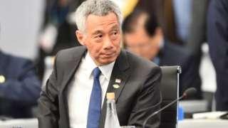 """李显龙表示:""""对于中国现在走的路,以及这是否对他们有利,外界存有很大的不确定和忧虑。"""""""