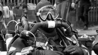 Lex in diving kit
