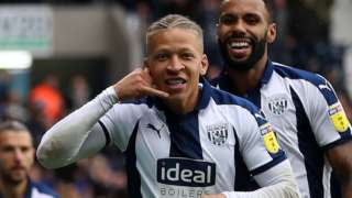 West Brom's Dwight Gayle