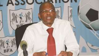 Botswana Football Association CEO Mfolo Mfolo
