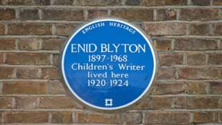 Enid Blyton Blue plaque