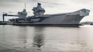 กว่าที่เรือเอชเอ็มเอส ควีนเอลิซาเบธ จะปฏิบัติการได้อย่างเต็มรูปแบบต้องใช้เวลาอีกหลายปี