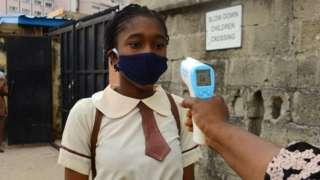 School pupil in Nigeria