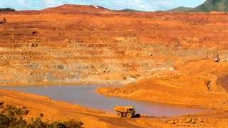 Goro mine in New Caledonia.