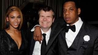 Beyoncé, Rob Stringer and Jay-Z