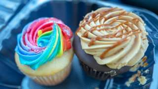 File photo showing cupcakes