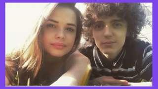 Aimee e seu namorado Sean