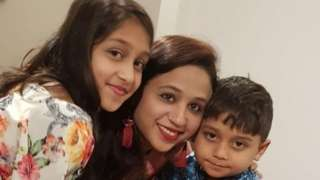 Seema Banu, Asfira Syed and Faizan Syed