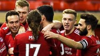 Aberdeen v Dundee