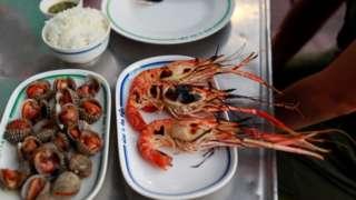 Makanan laut, Thailand