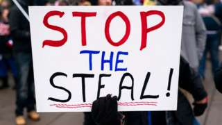 Stop the Steal sign