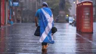 Засмучений прихильник незалежності Шотландії у 2014