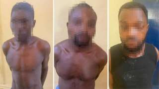 Ghana police arrest three suspect