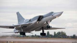 Russian Tu-22M3 bomber (from Tupolev.ru website)