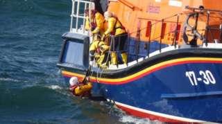 RNLI rescue off Portstewart on 25 September 2020
