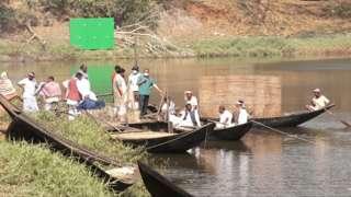 মুম্বাইয়ের ফিল্ম সিটিতে চলছে 'বঙ্গবন্ধু'র শ্যুটিং