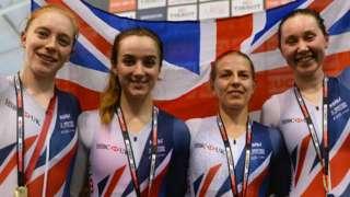 Britain's women's team pursuit team