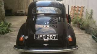 Oswald, a converted 1953 Series 2 Morris Minor