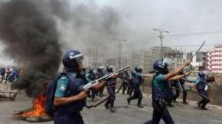 बाङ्ग्लादेशमा हिंसा