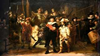 Rembrandt's reconstructed masterpiece is now back on display at Amsterdam's Rijksmuseum. Photo: 23 June 2021