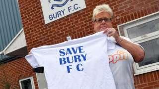 Bury supporter