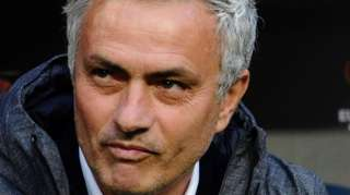 Picture wey AS Roma take announce Jose Mourinho as dia new coach