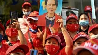Biểu tình của người Myanmar tại Bangkok