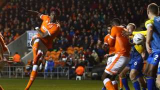 Blackpool's Armand Gnanduillet