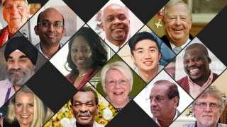 Tribute to victims of coronavirus