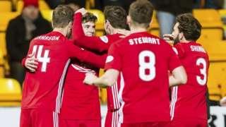 St Johnstone 0-3 Aberdeen