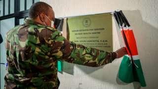 Perezida wa Kenya Uhuru Kenyatta