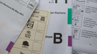 Postal votes laid out