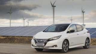 Nissan solar farm