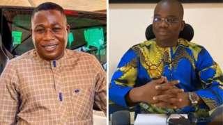 Sunday Igboho and e lawyer Bamidele Salami