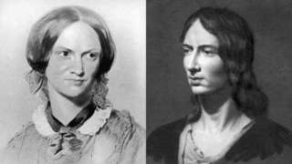 Artist impressions of Charlotte and Emily Bronte