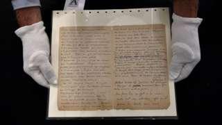 Van Gogh ve Gauguin'in genelev ziyaretlerini anlattıkları mektup 210 bin euroya satıldı