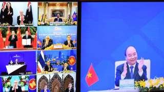 Hội nghị thượng đỉnh ASEAN tổ chức trực tuyến ở Hà Nội ngày 15/11/2020